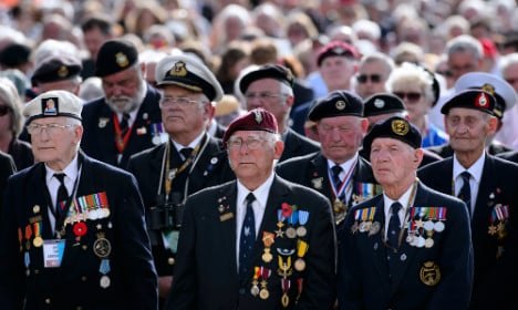 UK pensioner flees care home for D-Day parade
