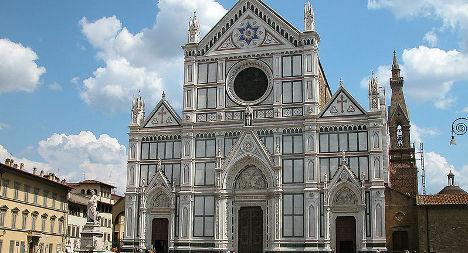 Frieze stolen from famed Florence church