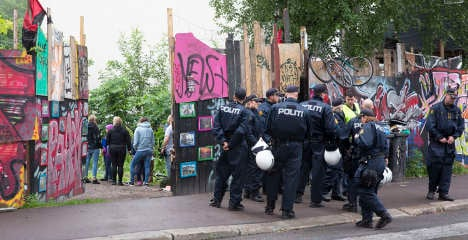 Squatters kicked off Oslo site after 14-year standoff