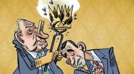 Spanish comic censored over 'crap crown' cover
