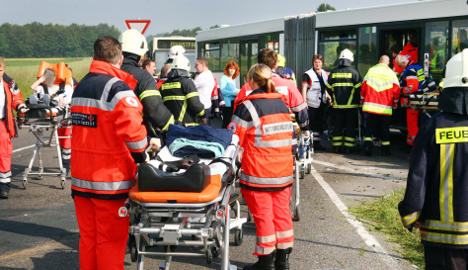 School bus crash injures 15 children