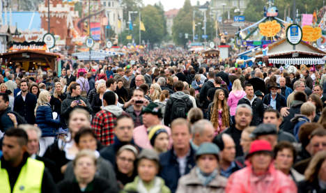 Bavaria's population is on the rise