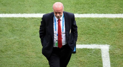 Del Bosque: We are all to blame for hammering