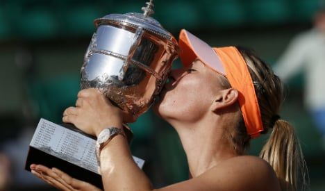 Sharapova supreme once more at French Open