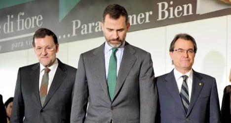Catalan leaders snub vote on Spain's new king