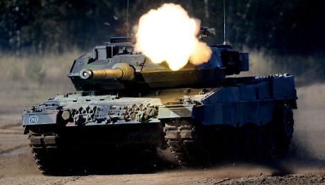 German weapons exports hit ten-year high