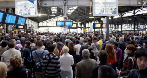 Tensions mount as French rail strike goes on