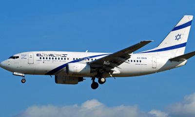 Austrian causes panic on El Al flight