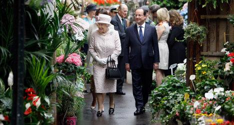 Paris market renamed in honour of Queen