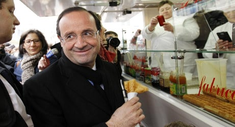 Hollande to chow down with Russia, US leaders