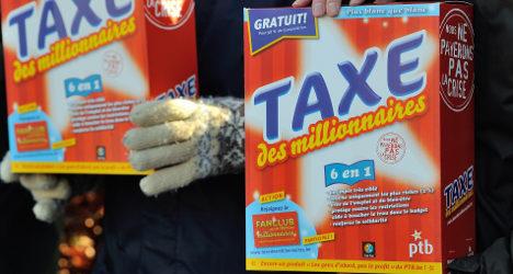 France has 'third highest tax burden in EU'