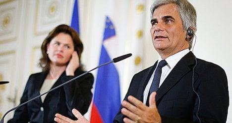 Austria, Slovenia back South Stream pipeline