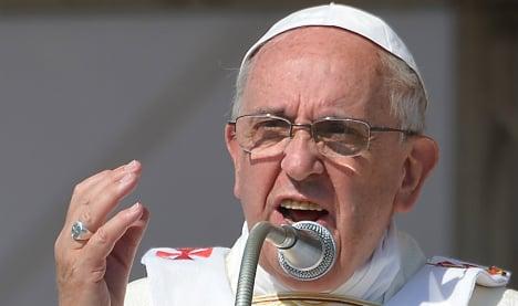 Pope excommunicates Italian mafia