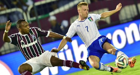 'England will be a challenge for Italy': Abate