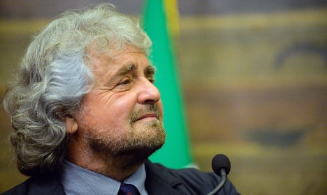 Italy's rebel leader ready to talk to establishment
