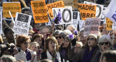 Spain to allow abortion if foetus malformed