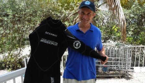 Cousteau grandson eyes undersea record
