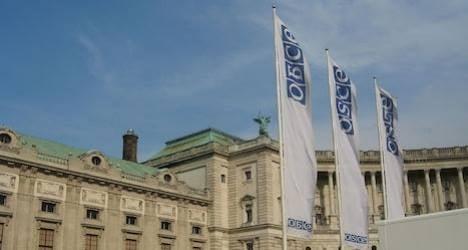 OSCE website 'hacked'