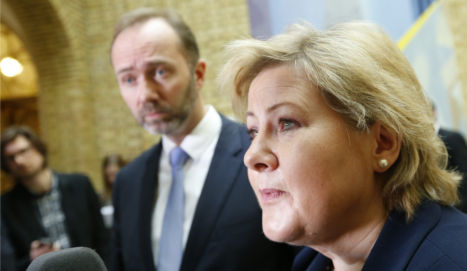 Solberg 'most chatty' leader on Twitter