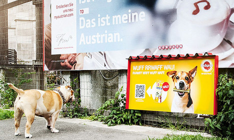 First ad aimed at dogs smells of treats