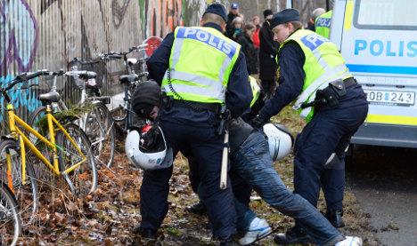 Kärrtorp clashes: Four neo-Nazis jailed