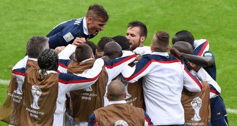 History made as France beat Honduras 3-0