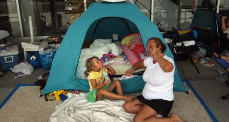 Spanish Ikea fans camp out for cash prizes