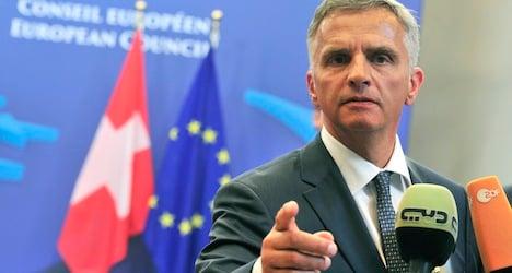 Burkhalter hails release of Ukraine observers