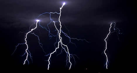 Deaf French boy in coma after he's hit by lightning
