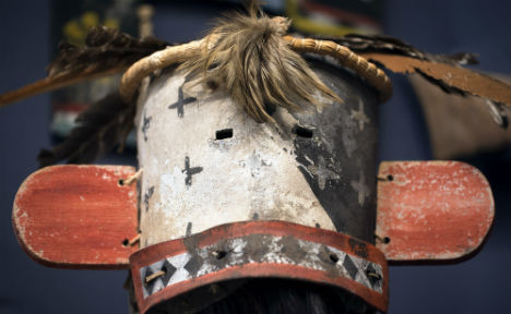 Native American mask auction draws protests
