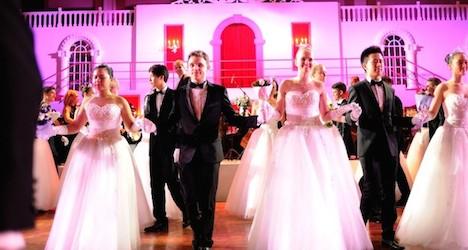 Austrian ball in Shanghai 'true Viennese Ball'