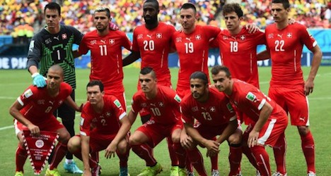 Swiss football team has 'most foreign links'