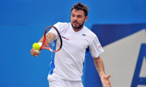Wawrinka beats fever in time for Wimbledon