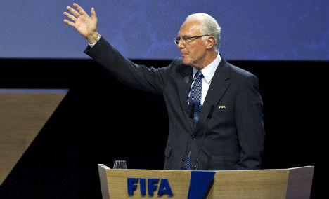 Beckenbauer skips World Cup after ban