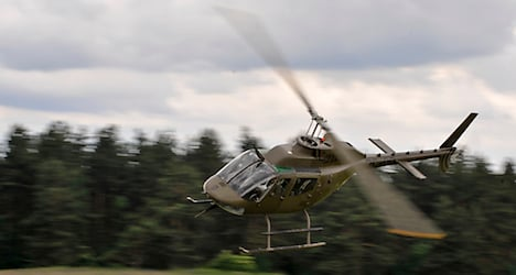 Army helicopter accident kills one