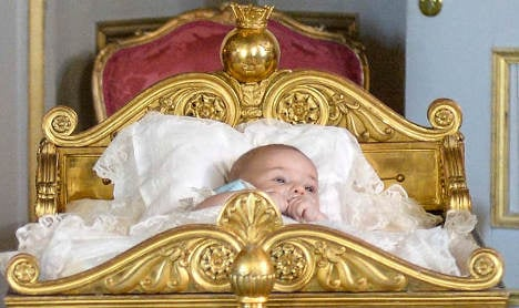 In Pictures: Princess Leonore's baptism