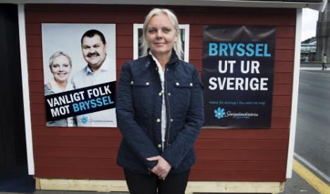 Sweden Democrats alone as EU groups form