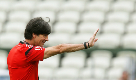 Germany's Löw warns of second match trap