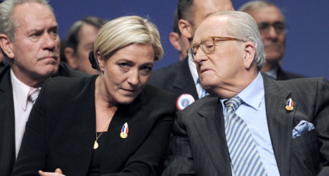 Le Pen family row threatens National Front