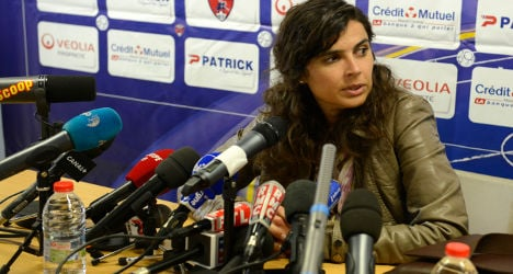 Pioneering woman coach quits French men's team