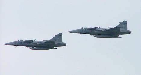 Hungarian air-force may police Austrian skies