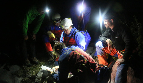 Explorer trapped in Germany's deepest cave