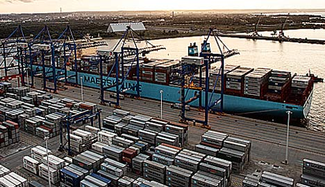 Maersk alliance sunk by Chinese authorities