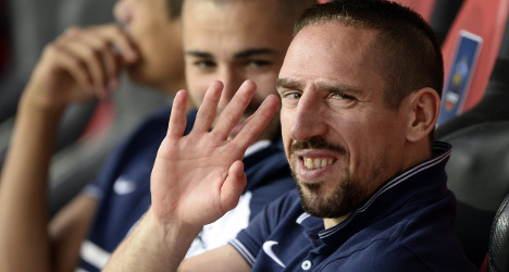 Injury forces France's Ribery out of World Cup