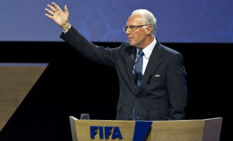 FIFA lift Beckenbauer suspension – manager