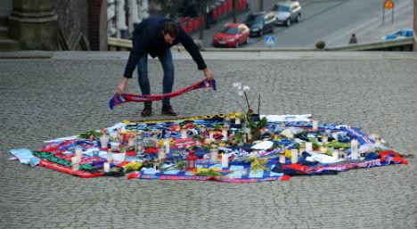 Man jailed after killing Stockholm football fan