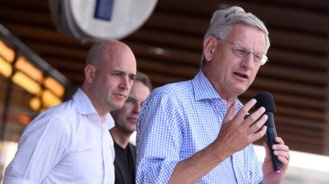 Carl Bildt critical of Putin's visit to Vienna