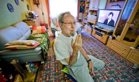 Pensioner evicted from home for smoking