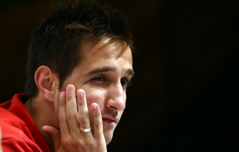 Injury ends World Cup for Swiss football star