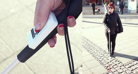 GPS navigation for the blind